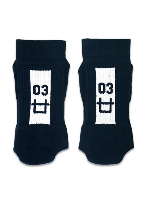 Third Day AM037Y TD Sock Logo 03 blk x Socky