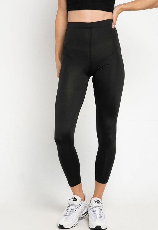 LB039 td active on calf compression legging olahraga wanita black