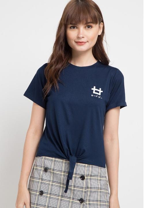 Third Day LTB15E CK Logo dakir nv T-shirt Navy