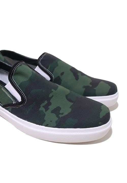 NH012 nade slip on shoes green camo