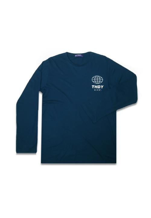 Third Day MTE98 long sleeve world thdy dakir nvy