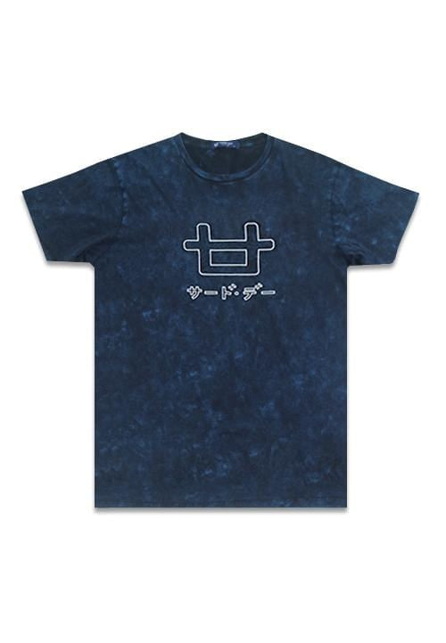 Third Day MTD23C washtess logoicon outline nv T-shirt Navy