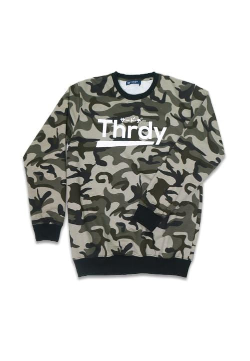 Third Day MO148F sweater THRDY camo br-gr