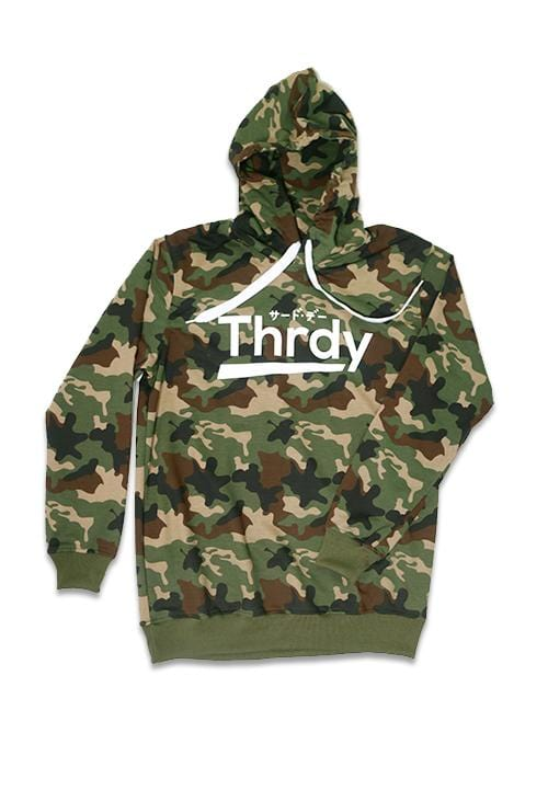 Third Day MO133F hoodies Thrdy camo gr-olv