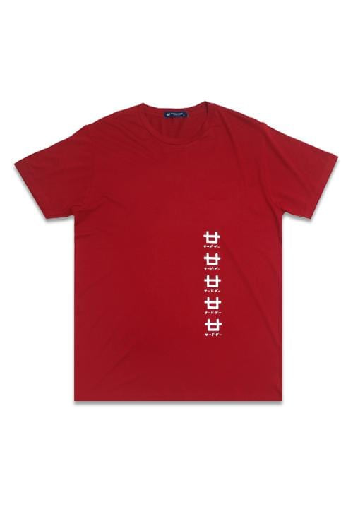 Third Day MTE61 5logos ver mr T-shirt Merah
