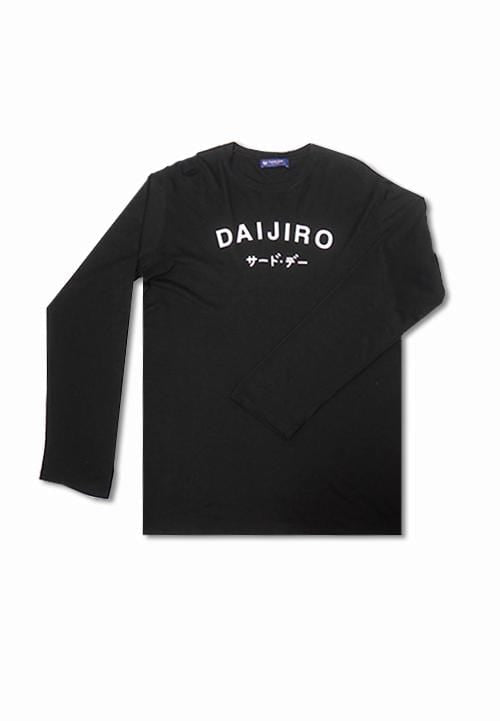 Third Day MTE53 long sleeve daijiro blk T-shirt Hitam