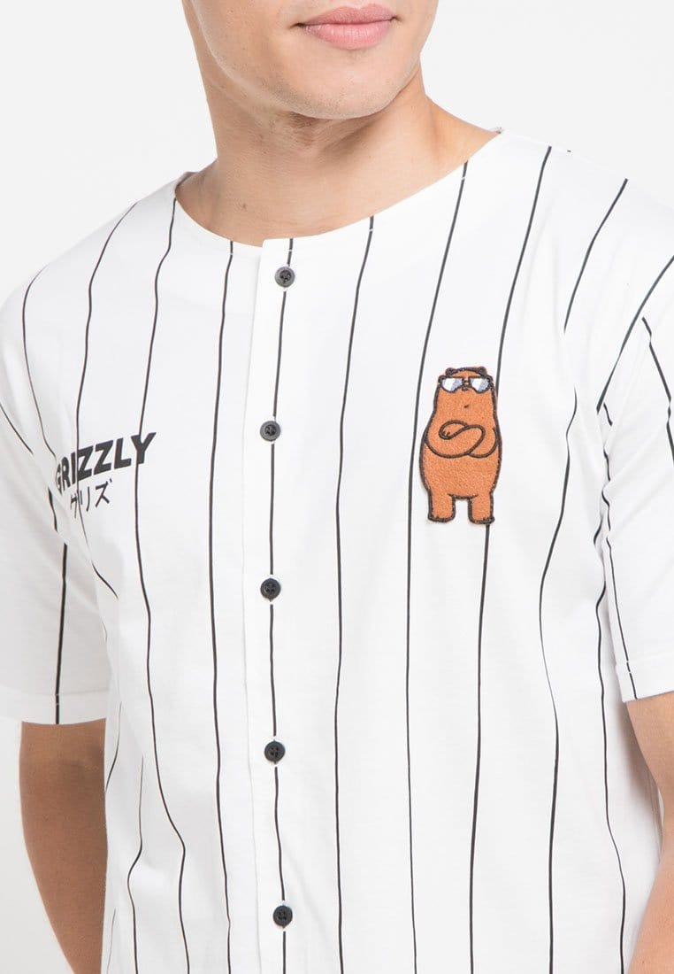 MTG55 we bare bears WBB bball grizzly baseball white
