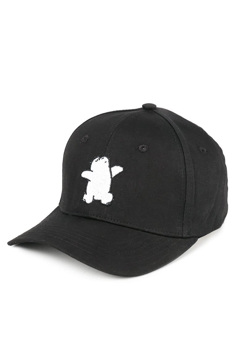 AM090 thirdday baseball cap wbb we bare bear ice bear hitam