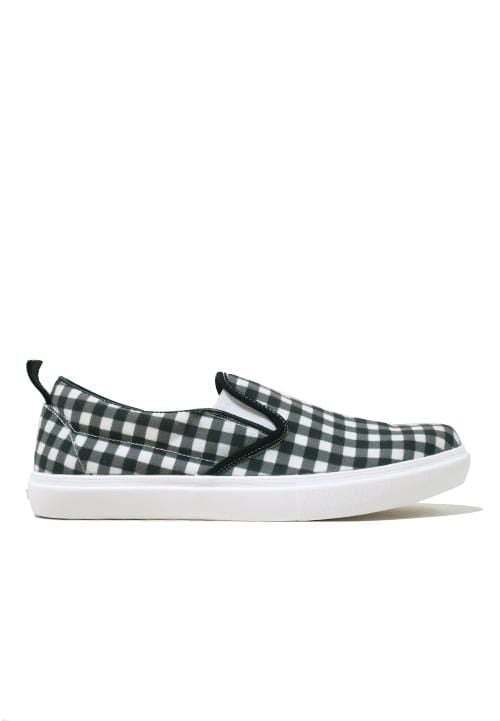 NH003 Nade slip on shoes simple checks