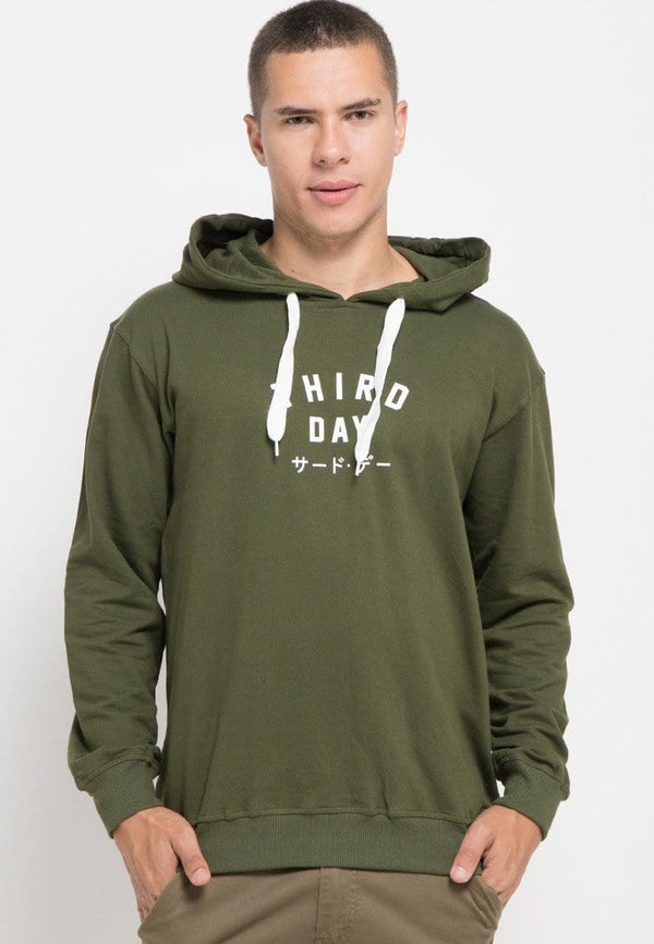 MO183 Hoodies TD simple army