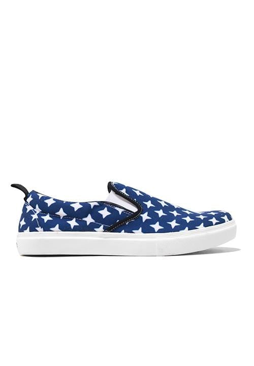 NH010 Nade slip on shoes blue sparkles