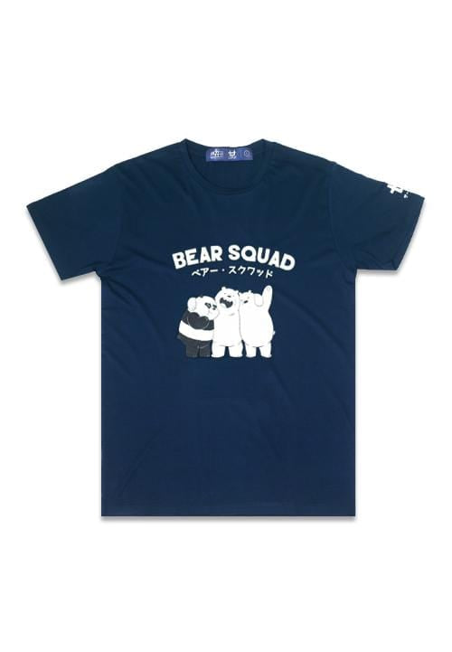 Third Day MTE20F WBB bear squad nv T-shirt navy