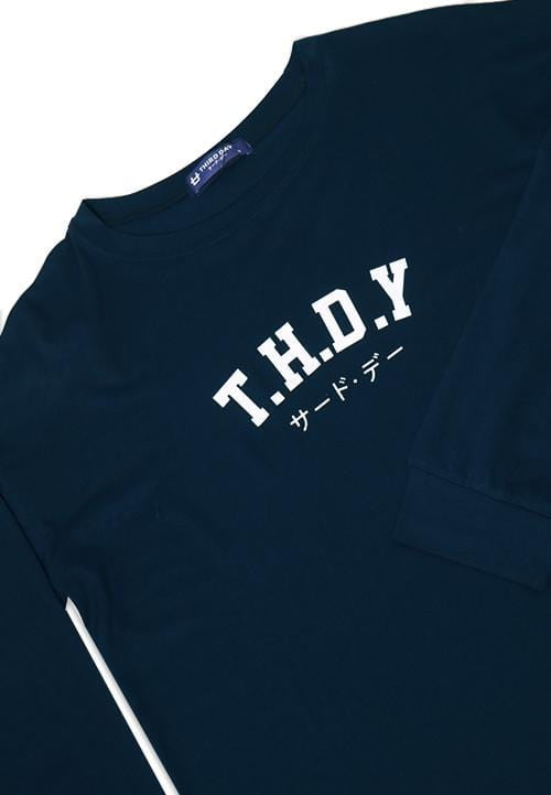 LTC64 lv thdy college navy kaos hijab ladies