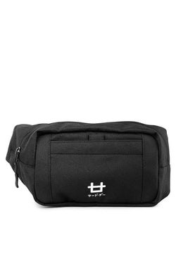 AM084 thirdday tas casual pria waist bag logo icon hitam