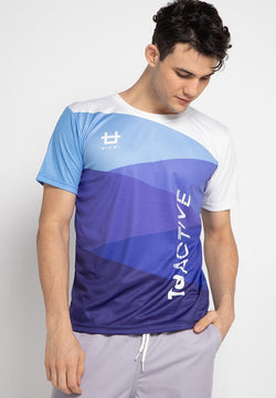 Third Day MS080 td active blue spiral running jersey