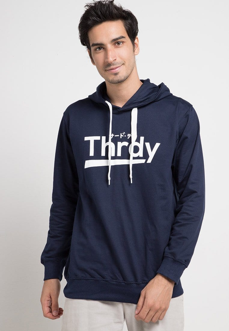 Third Day MO117D hoodies thrdy nv Hoodie Navy