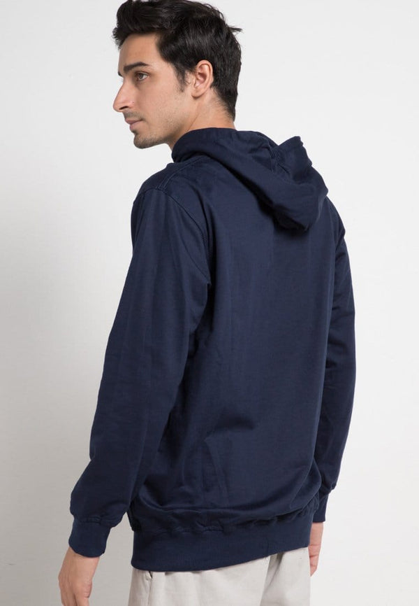 MO118D hoodies katakana single line nv Hoodie Navy