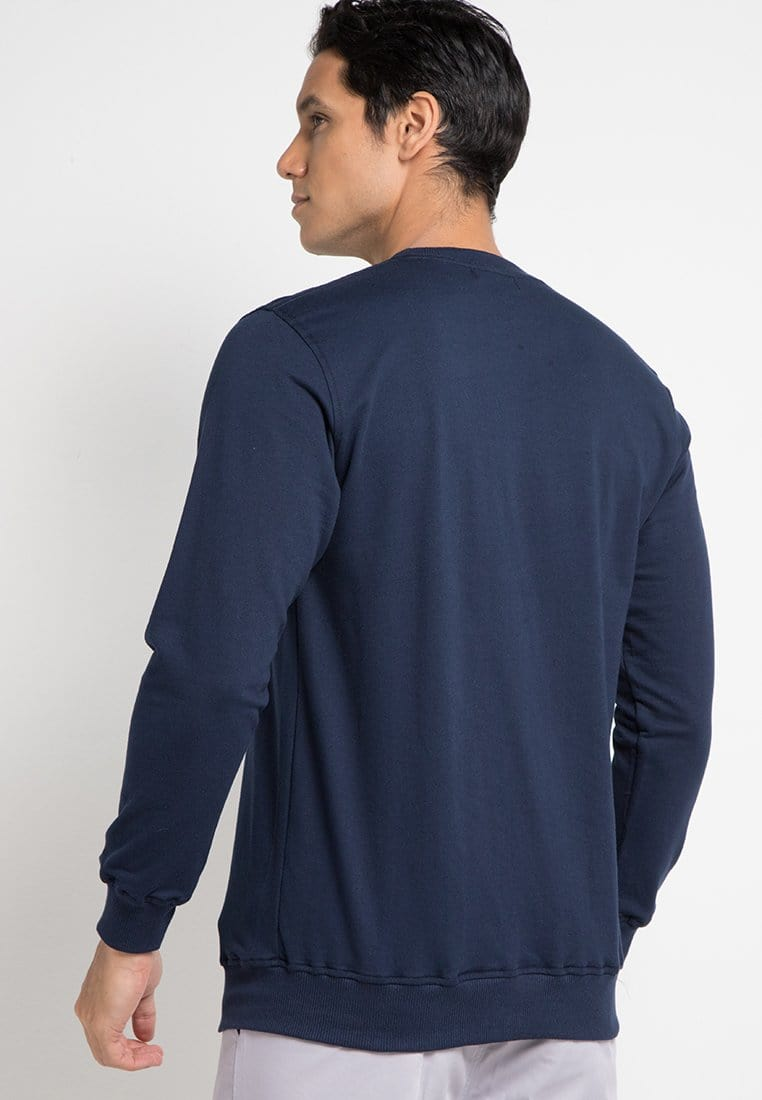 MO129E sweater td simple nv Navy