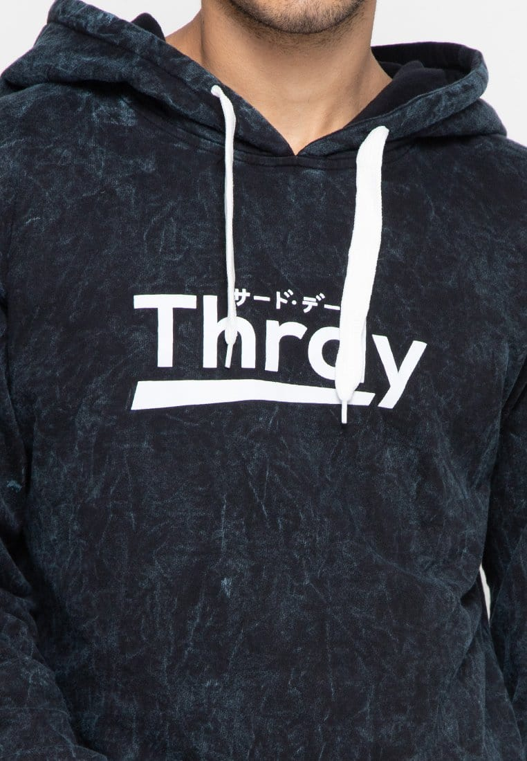 Third Day MO158 wash hoodies thrdy navy