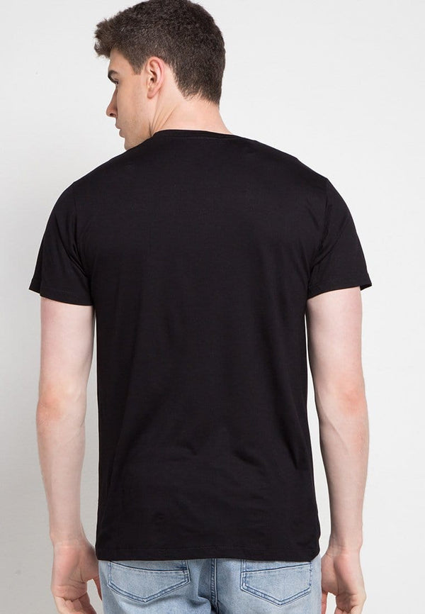 Third Day MTD48D logoicon scribble blk T-shirt Hitam