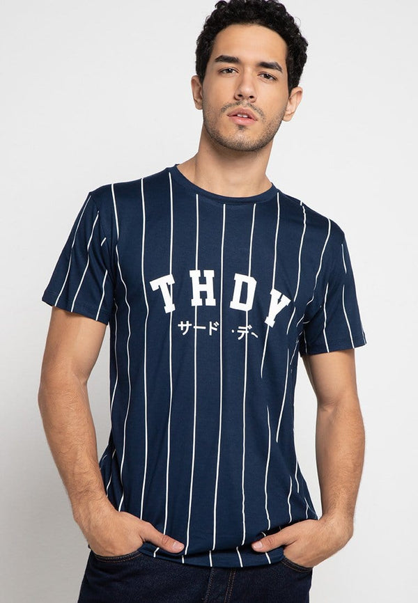 Third Day MTD89F thdy ktkn ver bball nv T-shirt Navy