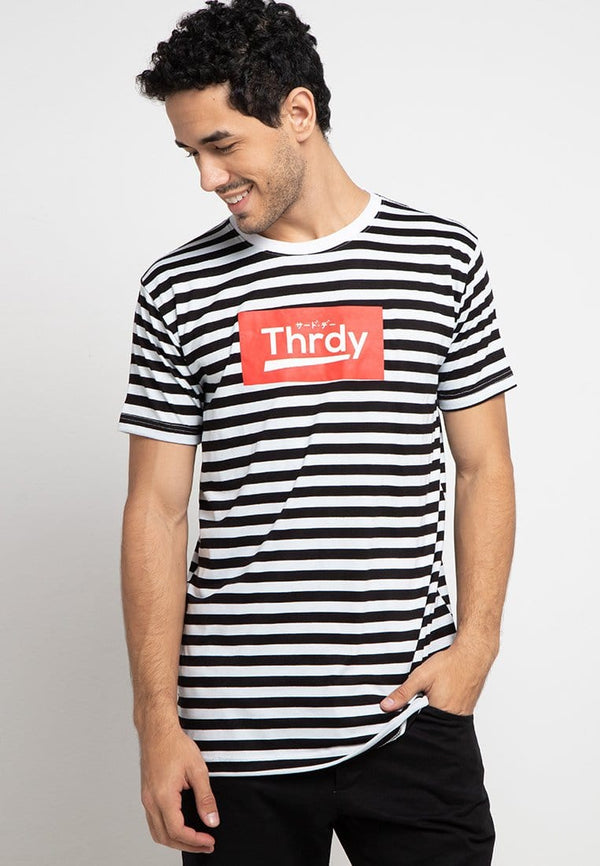 Third Day MTE14F thrdy red small stp blk-wh T-shirt Multiwarna