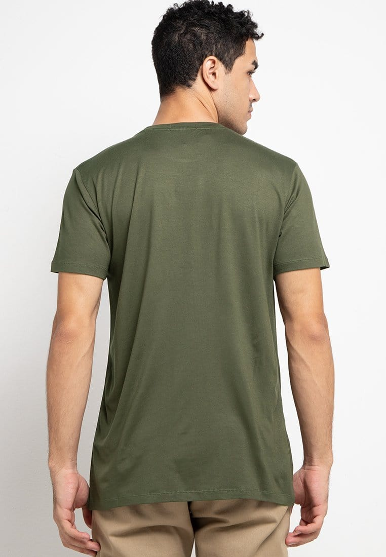 Third Day MTE94 ninja kick logo gra T-shirt Olive