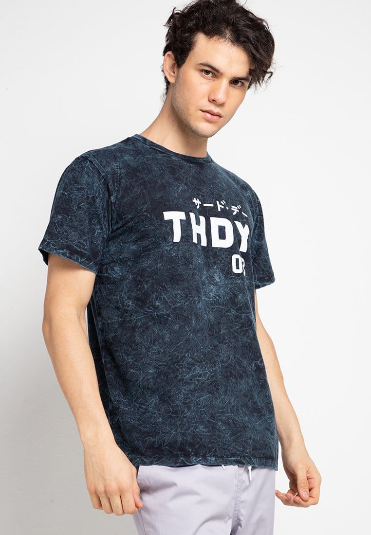 Third Day MTF39 washtees thdy 03 nvy kaos pria Navy