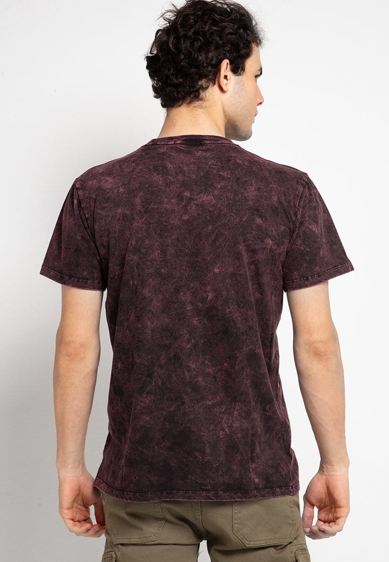 Third Day MTF43 washtees scribble mrn kaos pria Maroon