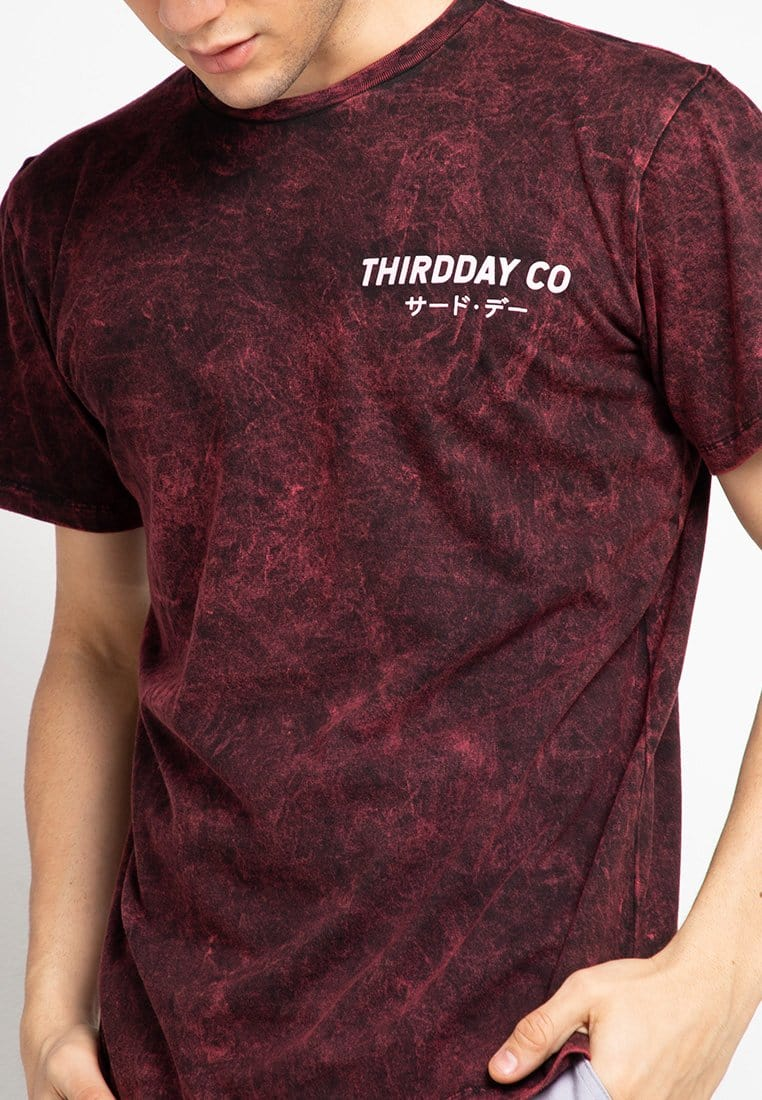 Third Day MTF44 washtees hansief mrn kaos pria maroon