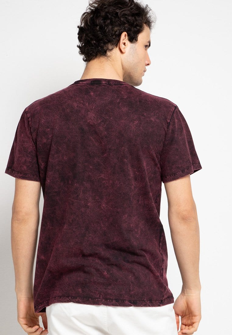 Third Day MTF48 washtees sdi languages mrn kaos pria Maroon