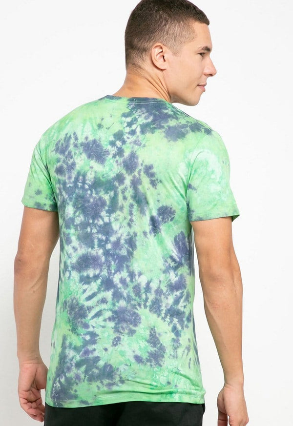 MTH32 thirdday tie dye green purple unisex t-shirt