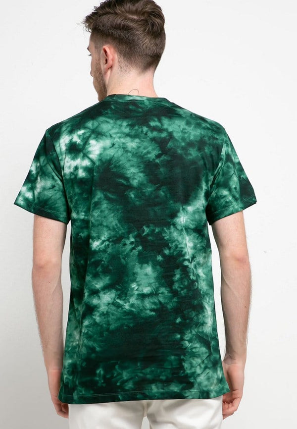 MTH47 thirdday tie dye green black logo dakir t-shirt unisex pria