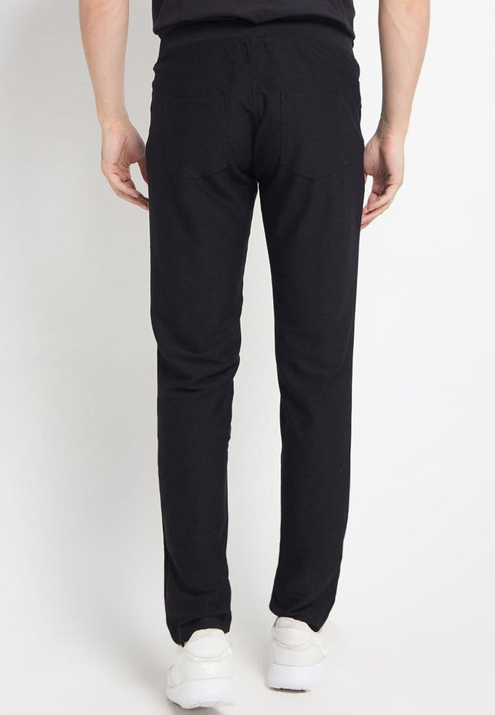MB033L Men Jegging Pants Black