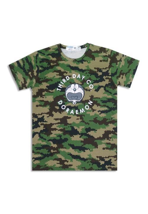 Third Day MTC10A s-s Men camo-px Dora circle grn X Modo T-shirt Multiwarna
