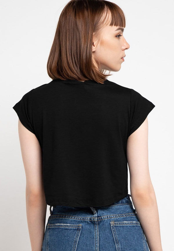 LTD42 thirdday crop tdco hitam black