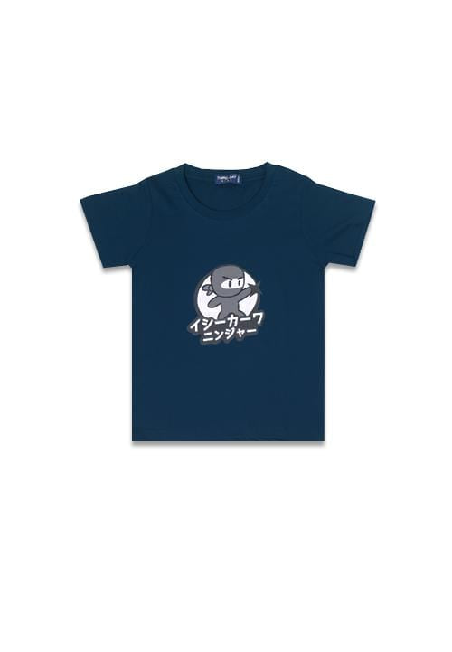 Third Day DT101 tod ishikawa ninja grey nv T-shirt Navy