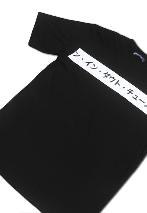 Third Day MTC52C whitelist chest jpn blk T-shirt Hitam