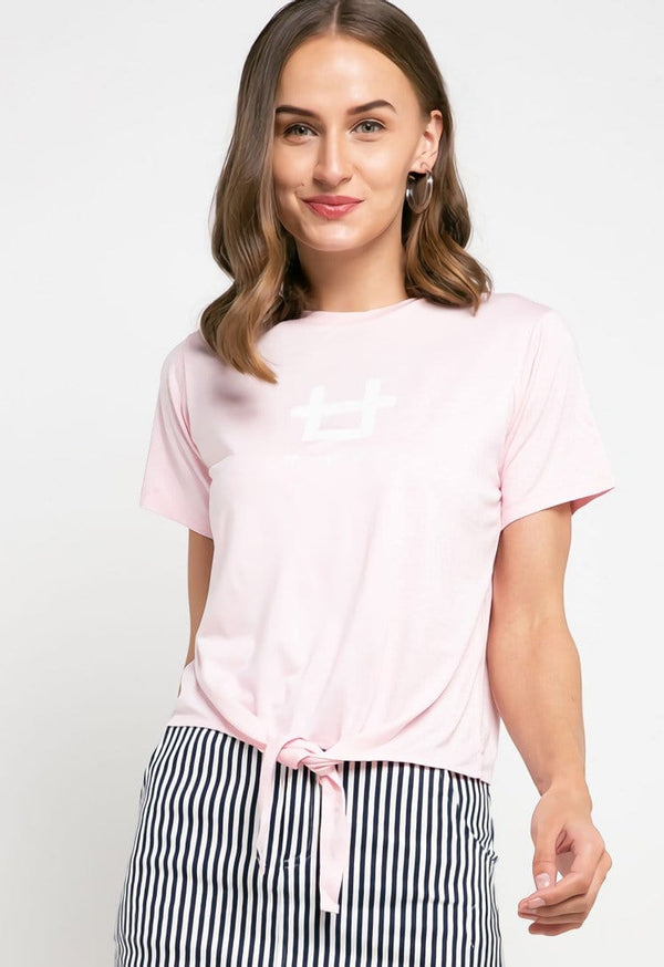 LTD25 CK logo  crop knot pink