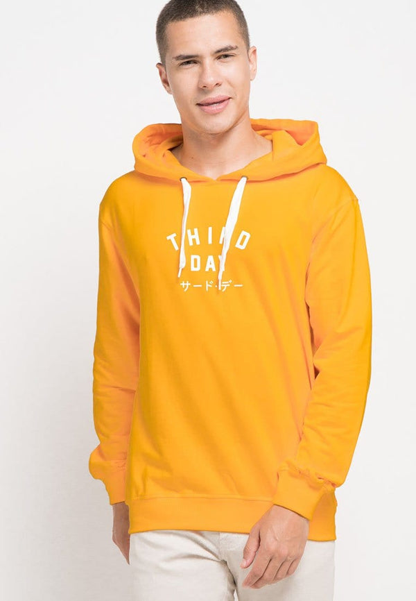 MO187 Hoodies TD simple yellow