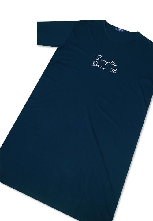 Third Day LTC02 LD simple does it sign nvy long dress ladies Navy