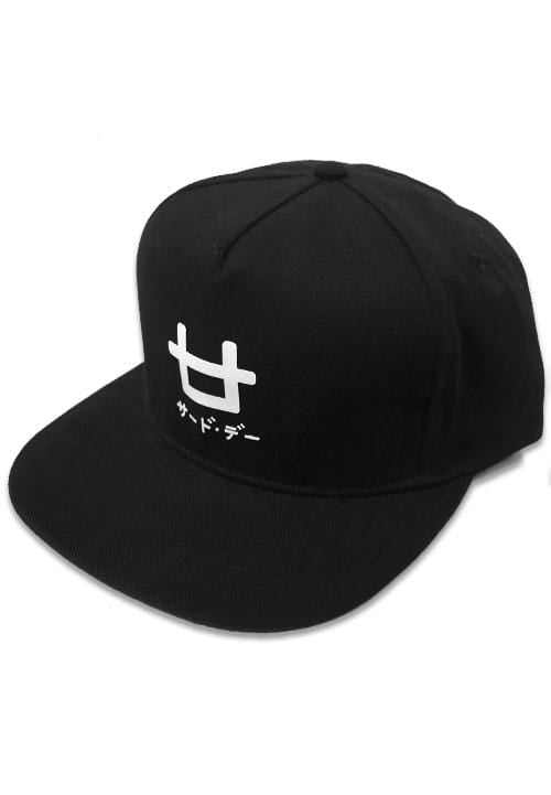 Third Day AM076 snapback logo blk Hitam