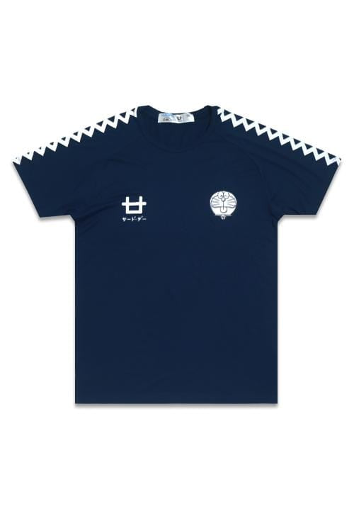 Third Day MTD57D dora zigzag white nv T-shirt Navy