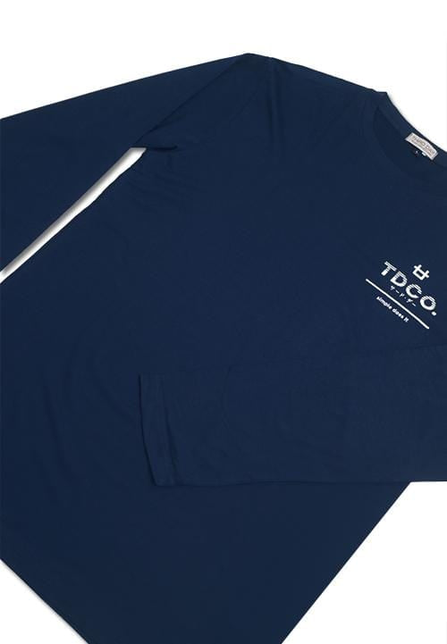 MTC88C l-s long sleeve tdcoarsir nice nv T-shirt Navy