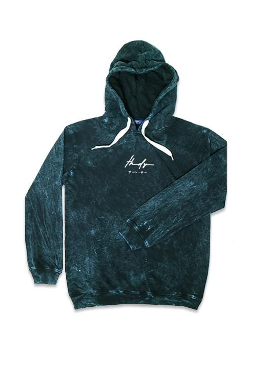 Third Day MO159 wash hoodies thdysign navy
