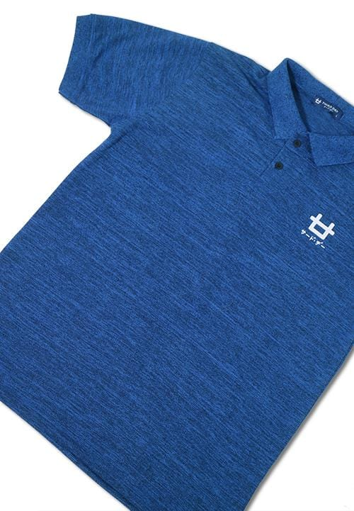 Third Day MTE55 polo logo misty Blue