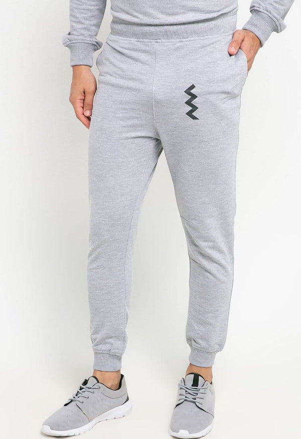 MB070 Long jogger zigzag grey m71