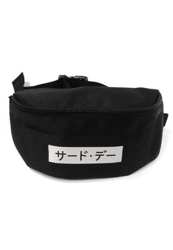 Third Day AM030V waistbag Katakana blk Hitam