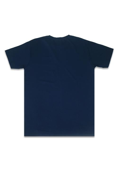 MTC82B small thrdy lestbreast nv T-shirt Navy