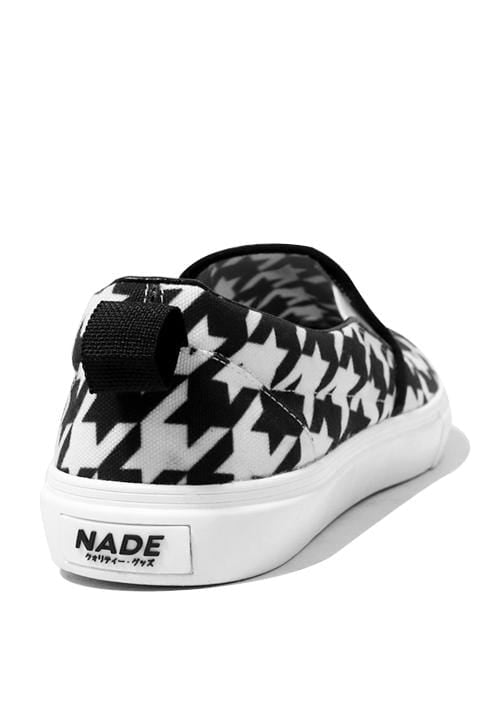 NH001 Nade slip on shoes houndstooth